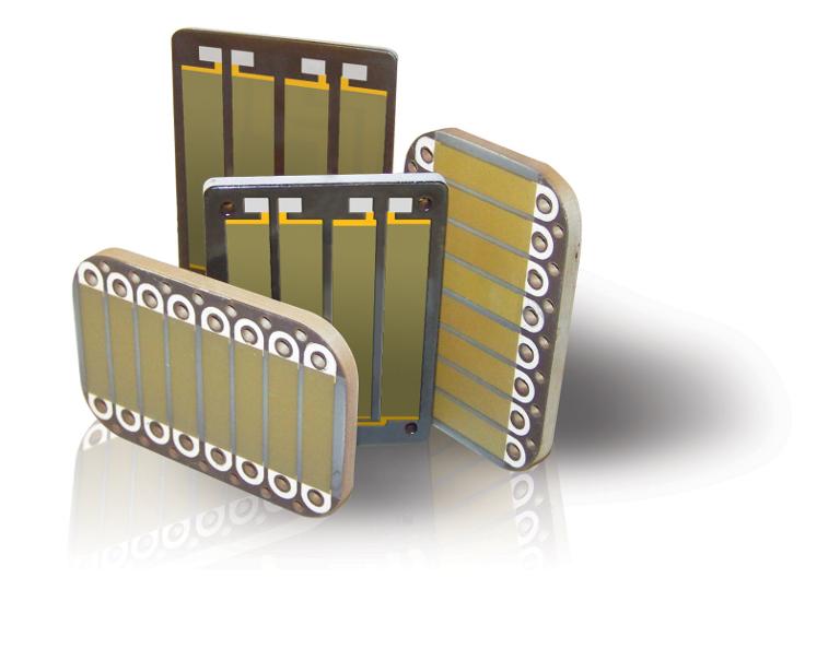 絶縁材料にVICOTERコーティングを用いた超高速アルミニウム厚膜ヒーター