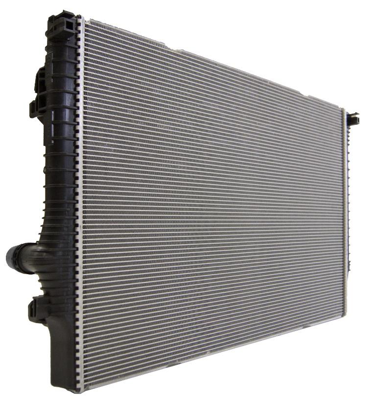 キャプション1 Valeo Thermal SystemsがSolvayのTechnylRを使用して製造した冷却ラジエーター