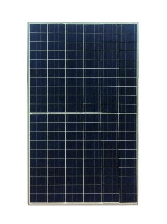 ハーフカットセル設計を採用した次世代ソーラーパネル