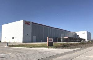 米国工場の外観写真