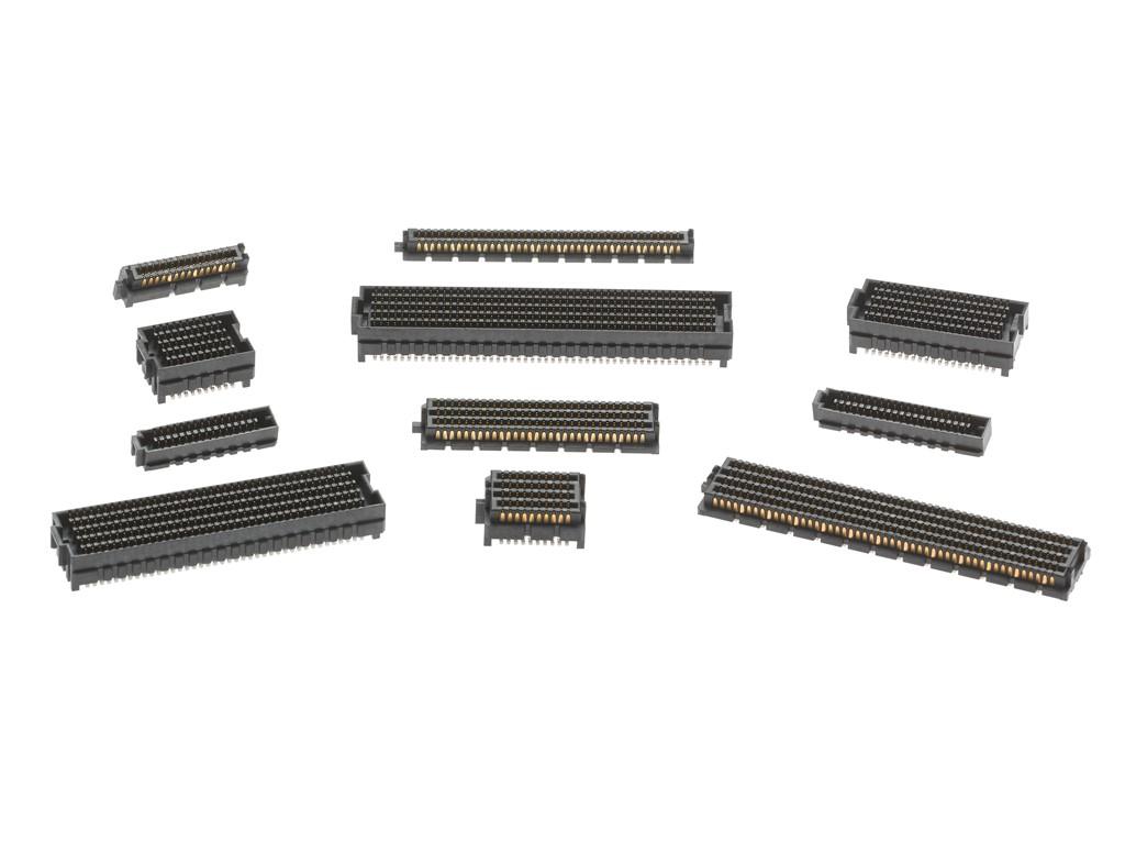低背型のメザニンコネクターファミリーSEARAYおよびSEARAY Slimを発表