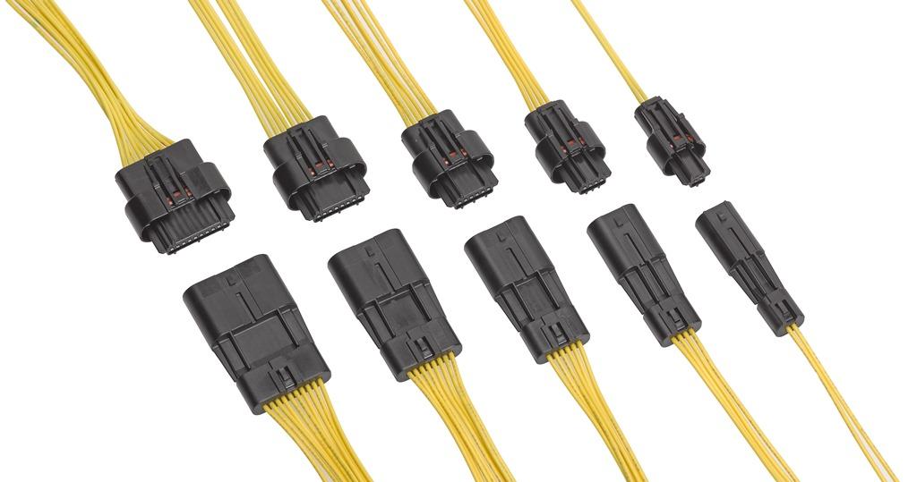 1.80mmピッチ防水型Squba電線対電線用コネクターを発表