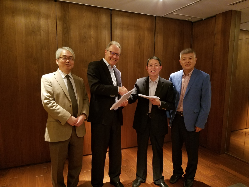 Disheng Technologyと紫外線吸収剤を対象とした提携契約を締結