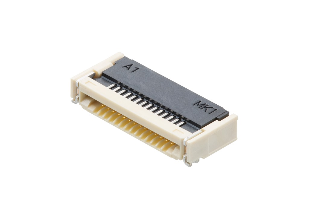 0'50mmピッチFFC-FPCコネクターFBH2シリーズを発表_閉