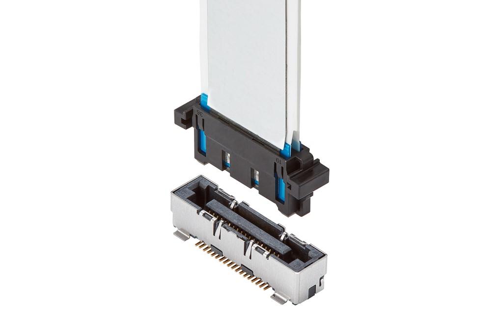 Easy-On FFCFPC用ストレート型コネクターFV2Rシリーズを発表