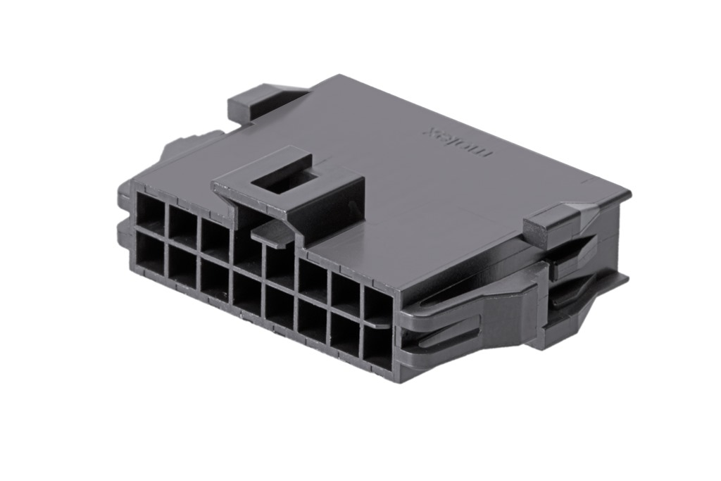 Nano-Fitパワーコネクターに電線対電線用プラグハウジングを追加_2列16極(201444シリーズ)