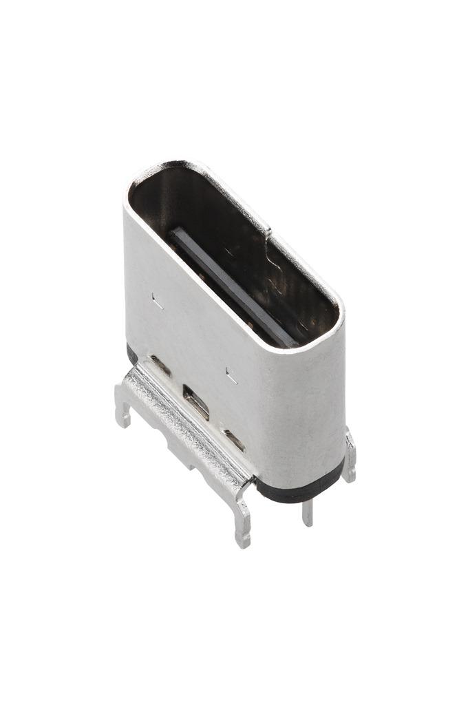 USB Type-Cコネクターにストレートタイプのリセプタクルを追加