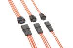 IP67準拠で最大14Aに対応する電線対電線用Squba防水型コネクターを発表