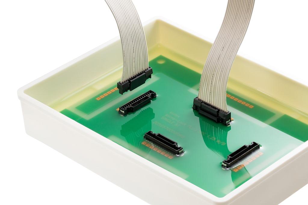ポッティング処理に対応した電線対基板用コネクターMicro-Lock Plusを発表_Hosing