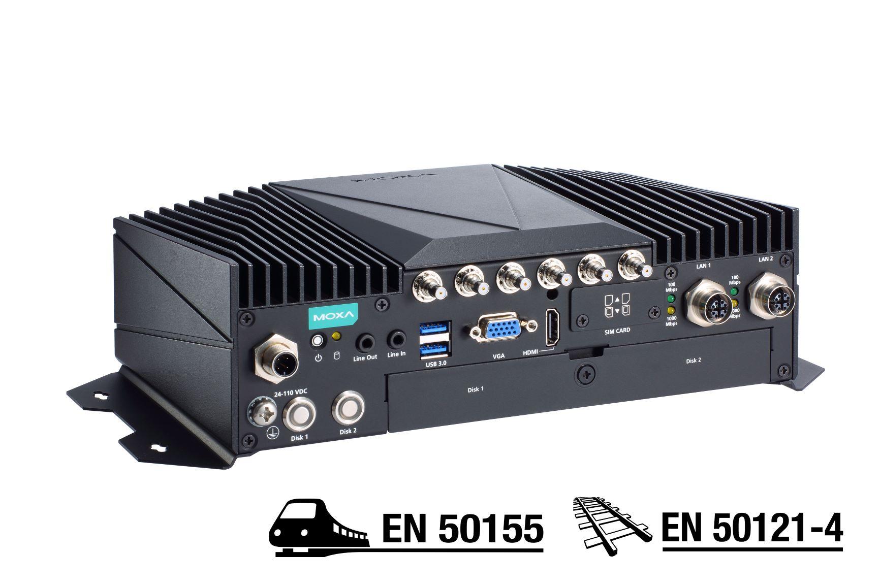 高性能な鉄道用コンピュータ「V2406Cシリーズ」を発表