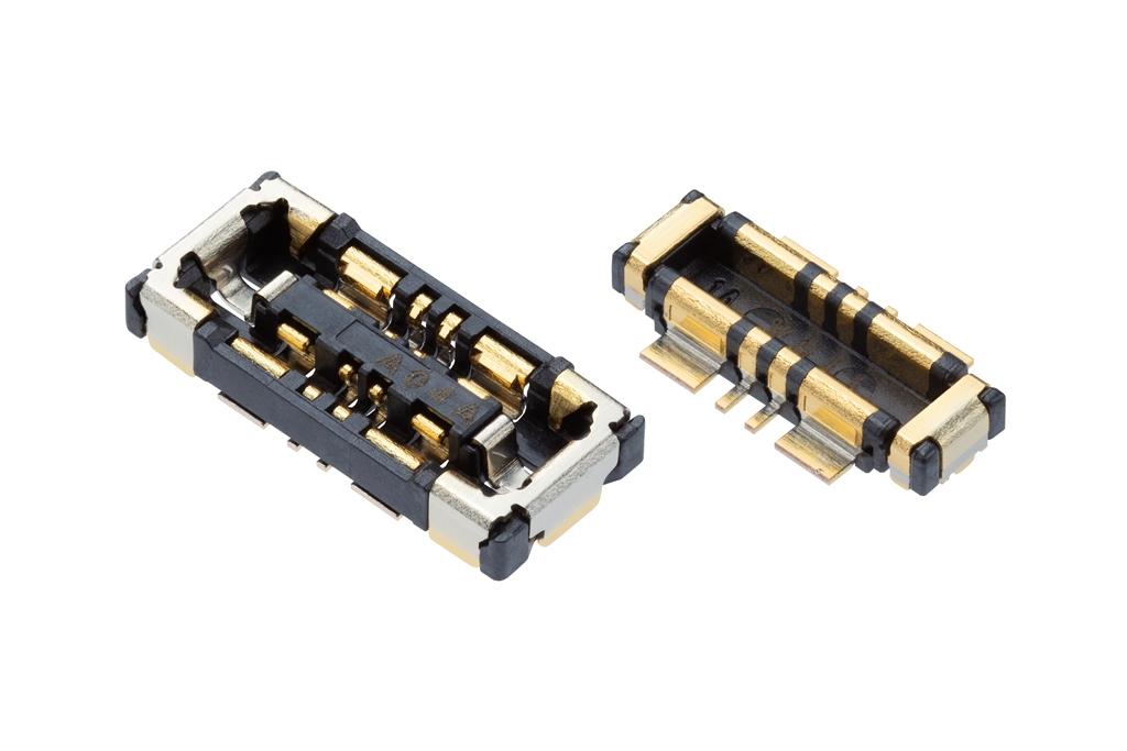 0.35mmピッチSlimStackバッテリーシリーズ基板対基板用コネクターを発表