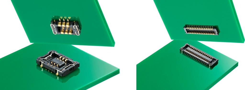 SlimStack基板対基板用コネクターHRF 7S & 7Lシリーズを発表