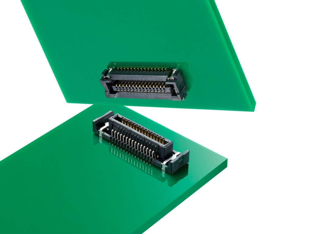 嵌合時の誤差やズレを吸収するSlimStack基板対基板用フローティングコネクターにFSB3シリーズを追加