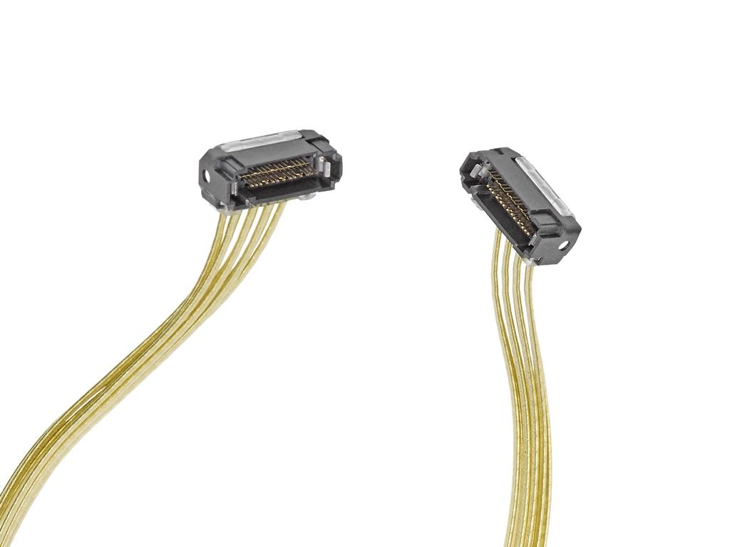 通信やデータセンター用途向けNearStack高速ケーブルアセンブリを発表