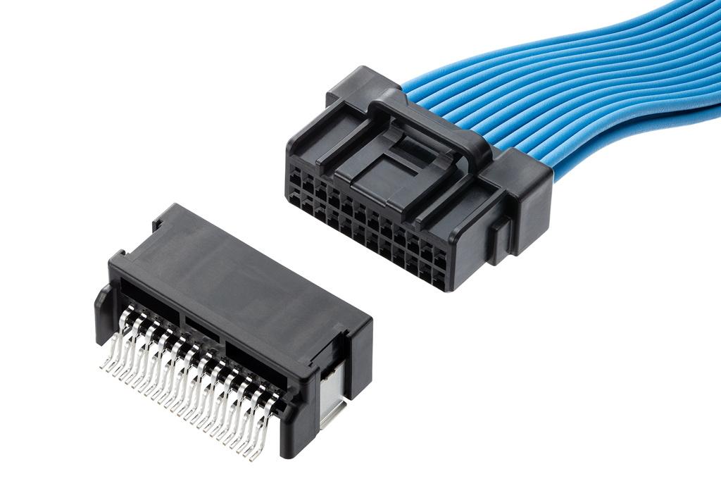 車載向けDuraClik電線対基板用コネクターにロバストシリーズを追加